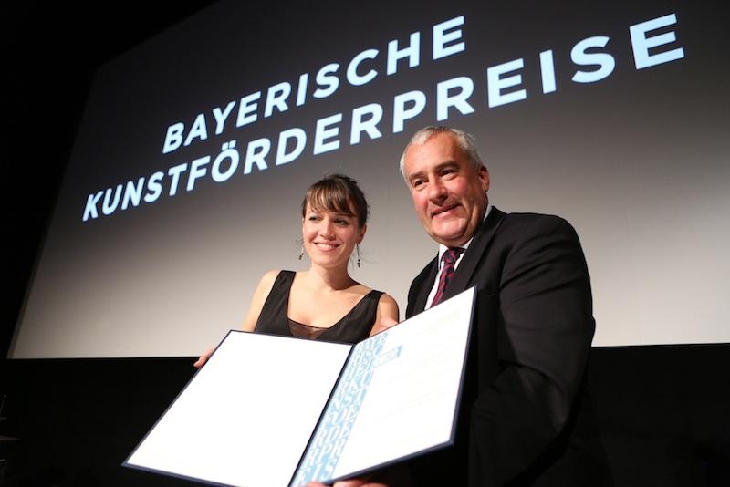 Bayerischer Kunstfˆrderpreis 2014