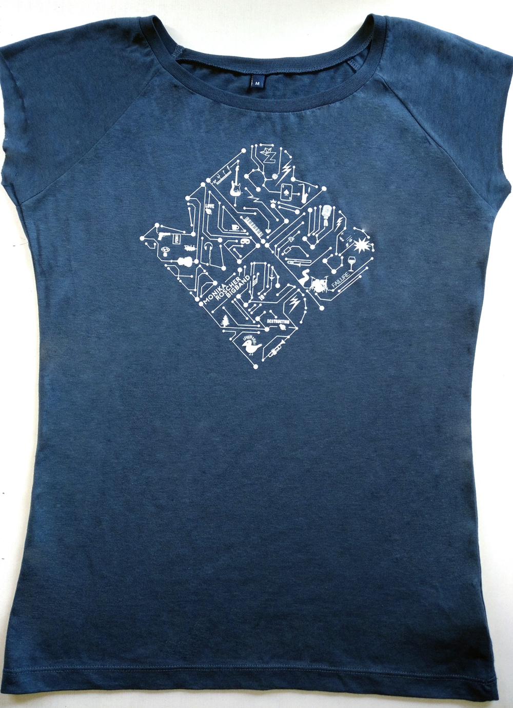 Shirt Ladies blau