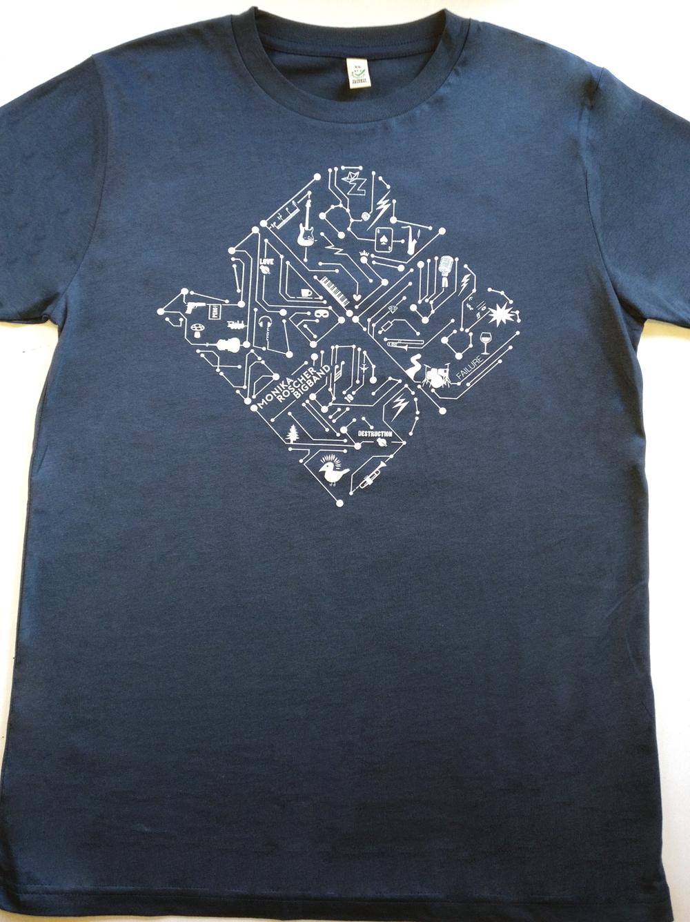 Shirt Men unisex blau